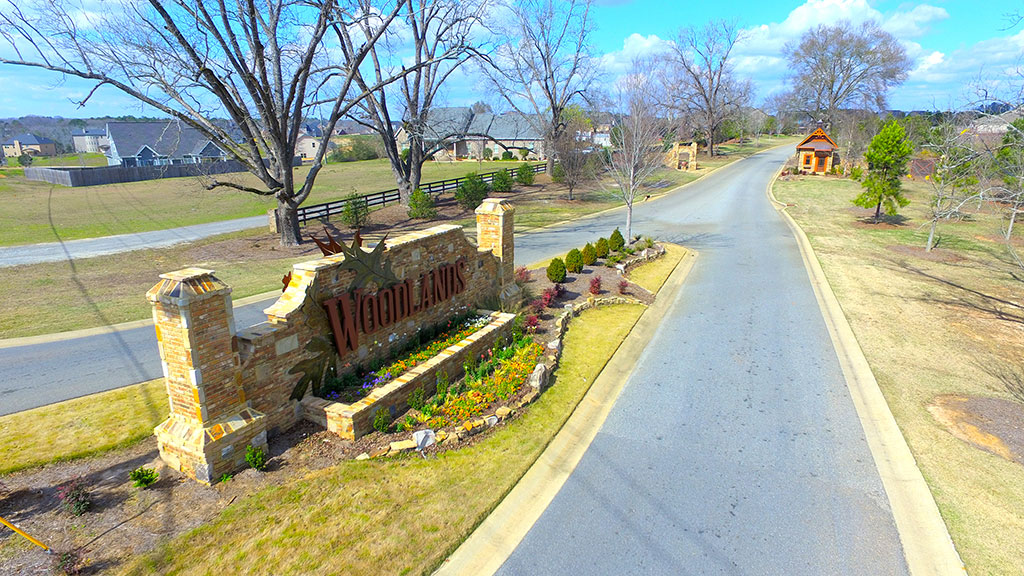 Woodlands of Houston Entrance
